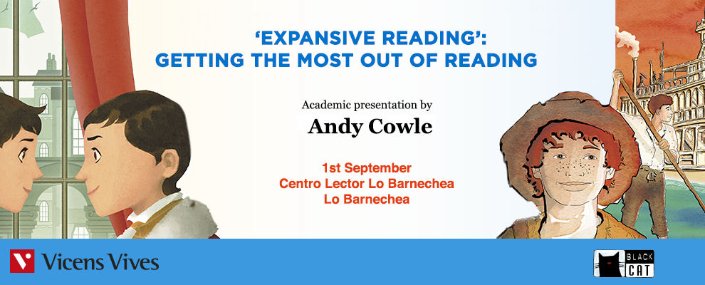 Andy Cowle: EXPANSIVE READING: GETTING THE MOST OUT OF READING